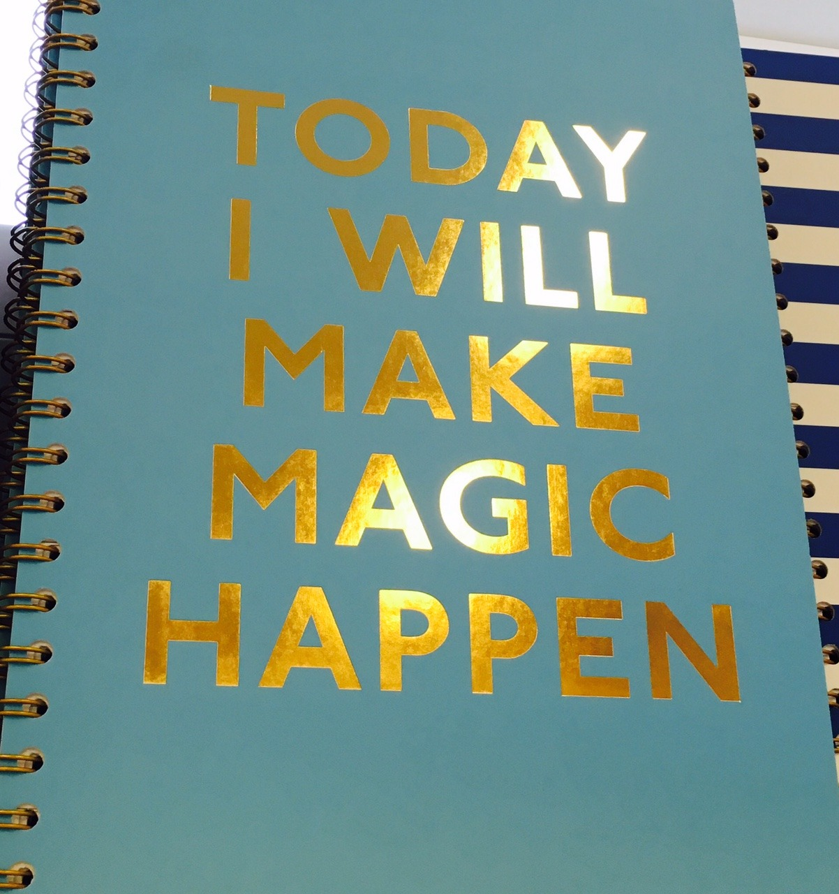 book or journal with title about magic